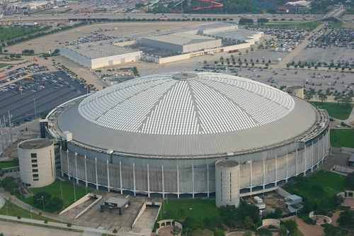 Astrodome anti-thunder