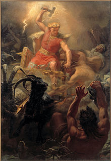 Thor, originator of thunder