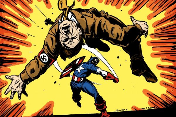Ahhhh. That's some good Nazi punching.